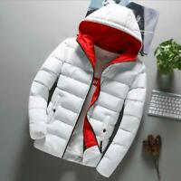 Padded Outwear Warm Coat Jacket Winter Hooded Overcoat Faux Fur Cotton Thicken