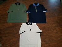 New Mens Swingster Polo Shirt With Front Pocket Stain Resistant