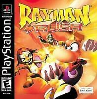 Rayman Rush Sony Playstation 1 Game PS1 Used