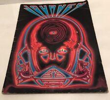 Journey 1983 Frontiers Concert Tour Program Book Steve Perry Randy Jackson RARE