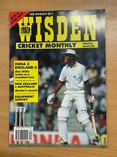 WISDEN CRICKET MONTHLY MAGAZINE (APR 1993) - INDIA 3 ENGLAND 0