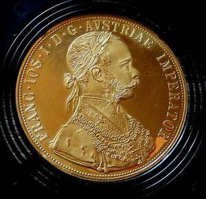 "G 466: Goldmünze ""Franz Joseph I."", 4 Dukaten, STG, Österreich, 1915"