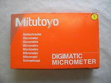 Digitale Bügelmessschraube Micrometer Mitutoyo 331-252 Messbereich 25-50 mm IP65