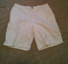 000 Men's Saddlebred White Shorts Size 36 100% Cotton