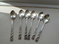 6 Sheffield Steel Tea / Coffee Spoons