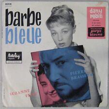 Barbe Bleue 33 tours 25 cm Dany Robin Pierre Brasseur Suzanne Flon