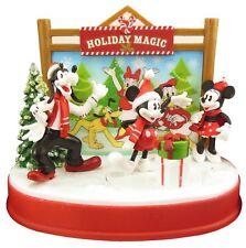 Disney Mickey Mouse Animated Christmas Tabletop Holiday Magic Display
