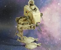 VINTAGE STAR WARS COMPLETE AT-ST SCOUT WALKER + DRIVER ACTION FIGURE KENNER tast
