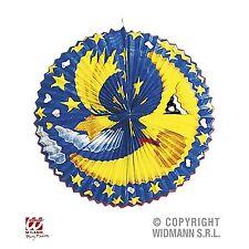 Laterne Mond oder Sonne Motiv ca. 60 cm sehr gross Papier Lampion