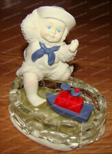 Snowbabies, Pride of the Sea (Let's Pretend by Dept. 56, 56.69439) Tug Boat