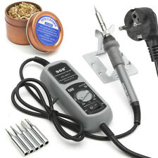 908+ 60W Electric Soldering Iron Station Portable Kit For SMT SMD Welding Rework