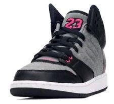on sale 0716f bae55 Jordan 1 Flight 4 Prem GG Gray Youth Girls Shoes-Size 8.5Y EUR 42