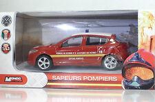 "Mondomotors 53138 Renault Megane ""Sapeurs Pompiers"" - METAL 1:43"