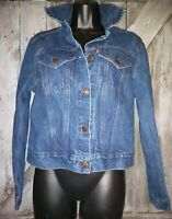 Vintage Levis Womens Blue Denim Trucker Jean Jacket * RARE 760001-0214 * HTF NEW
