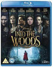INTO THE WOODS Meryl Streep Johnny Depp BLURAY FILM in Inglese NEW PRENOTAZ.