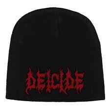 DEICIDE logo wool beanie