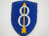 WWII U.S.Army 8th Infantry Division Shoulder Patch