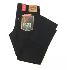 NEW Levi's 545 Workwear Athletic Fit Utility Mens Strong Pants Black Size 34x32