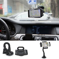 Suction Mount Universal In Car Mobile Phone Sat Nav PDA GPS Holder With Locking