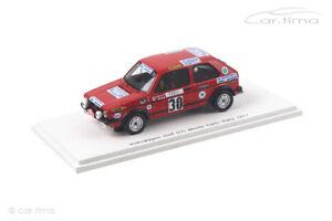Volkswagen Golf GTI Monte Carlo Rally 1977 Ragnotti/Andrie Spark 1:43 S3208
