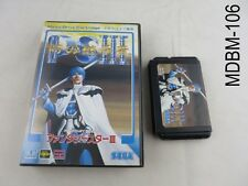 Boxed Phantasy Star 3 III Mega Drive (No manual) Japanese Import Sega MD Japan