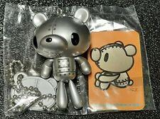 Gloomy Kumakikai Silver Bear Plastic Keychain Puran Puran Vol 1.5
