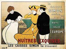 Publicité commerciale caisse Simon oyster FRANCE POSTER ART PRINT PICTURE bb1708a