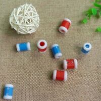 10Pcs/Set Plastic Crochet Knitting Row Counter Stitch Tally Knitter Needle Tools