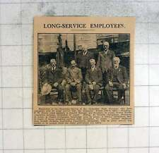 1925 Long Service Employees Gloucester Dock Company, Harris, Rowles, Tudor