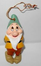 Grolier President`s Edition Snow White Bashful Disney Ornament with box