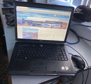 """DELL VOSTRO 1500 15.4"""" LAPTOP CORE 2 DUO Windows Vista/NO POWER ADAPTER"""