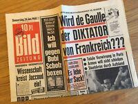 Bildzeitung 28. Januar 1960 BILD Zeitung 28.01.1960 * 58. 59. 60. Geburtstag