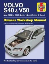 Haynes Workshop Manual Volvo S40 Volvo V50 2004-2013 Service Repair Manual