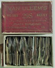 134 Van Ullem's Pen Nibs #29 Aluminum