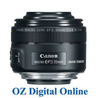 NEW Canon EF-S 35mm f/2.8 Macro IS STM F2.8 Lens 1 Year Aust Wty