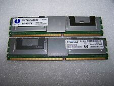 8GB (2x 4GB) PC2-5300F 667MHz DDR2 Fully Buffered FBDIMM for Servers only