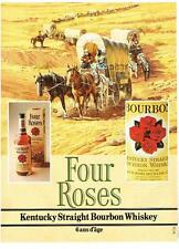 PUBLICITE ADVERTISING  1982   FOUR ROSES   KENTUCKY straight Bourbon whiskey