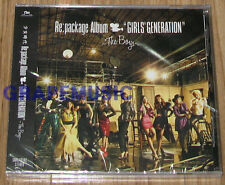 GIRLS' GENERATION JAPAN 1ST ALBUM Re:package Album The Boys CD + FOLDED POSTER