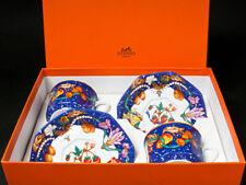 Hermes Porcelain Pierres d'Orient Cup Saucer 2 set Dinnerware Lapis Ornament New