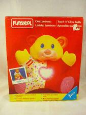 PLAYSKOOL GLOW TEDDY BEAR Vintage Plush RARE Boxed Toy