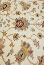 Beautiful Vintage 1980-1990s 4x6ft Muted Natural Dyes Turkish Oushak Rug