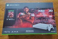 Microsoft XBOX ONE X 1TB Hyper Space NBA 2K20 Limited Edition Bundle NEW