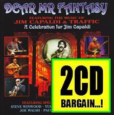 DEAR MR FANTASY JIM CAPALDI TRIBUTE (2 CD) STEVE WINWOOD~TRAFFIC~JOE WALSH *NEW*