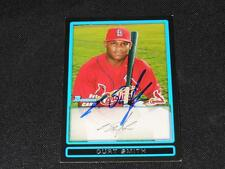 St Louis Cardinals Curt Smith Signed 2009 Bowman Autograph Card #BP34  TOUGH 113