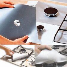 Kitchen Aluminum foil Gas Hob Oil Protector Liner Reusable Stove Clean Mat Pad