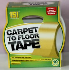 Carpet to Floor Tape Adhesive Strong  Reliable Double Sided 48 mm x 10 M
