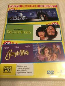 Casper / Drop Dead Fred / A Simple Wish DVD