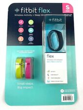 Fitbit Flex Wireless Activity Wristband Black Size Small With Extra Wristbands