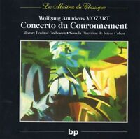 Wolfgang Amadeus Mozart ‎CD Concerto Du Couronnement - France