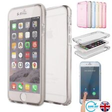 360 ShackProof Clear Gel Case Cover Screen Protector Silicon For iPhones,Samsung
